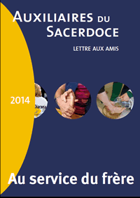 Lettre aux amis, revue des auxiliaires du Sacerdoce
