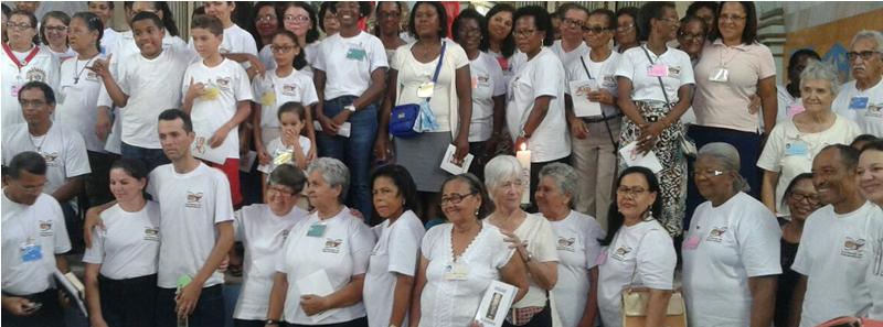 Famille auxiliaires du Sacerdoce - jubilé 2016 à Valença (Brésil)
