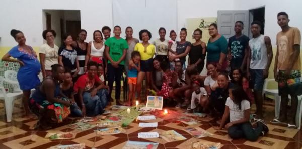rencontre avec des jeunes de communautés rurales du Brésil